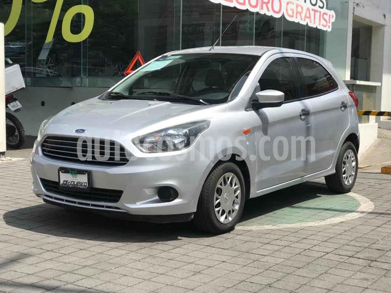 Ford Figo Hatchback Impulse Aut A/A usado (2017) color Plata precio $139,000