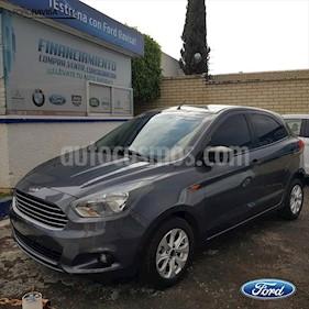 Ford Figo Hatchback ENERGY TA 5 PUERTAS usado (2017) color Gris Oscuro precio $174,000