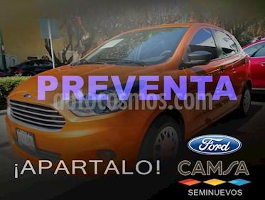 Ford Figo Hatchback IMPULSE TM A/A 5 PUERTAS usado (2016) color Naranja precio $129,000