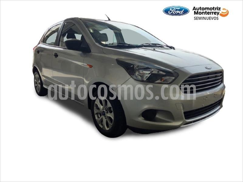 Ford Figo Hatchback ENERGY TM 5 PUERTAS usado (2017) color Plata precio $144,900