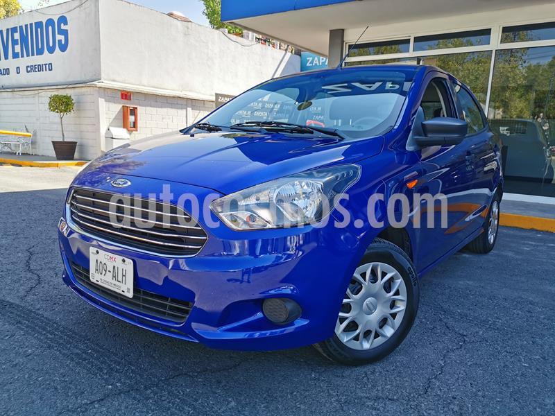 Ford Figo Hatchback Impulse A/A usado (2016) color Azul precio $139,000