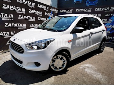 Ford Figo Hatchback Impulse A/A usado (2016) color Blanco Oxford precio $132,000