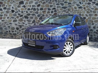 Ford Figo Hatchback Impulse A/A usado (2017) color Azul precio $155,000
