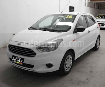 Ford Figo Hatchback Impulse A/A usado (2016) color Blanco precio $119,000