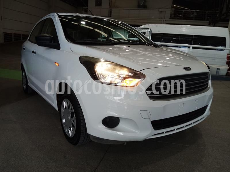 Ford Figo Hatchback Impulse A/A usado (2018) color Blanco Oxford precio $169,000