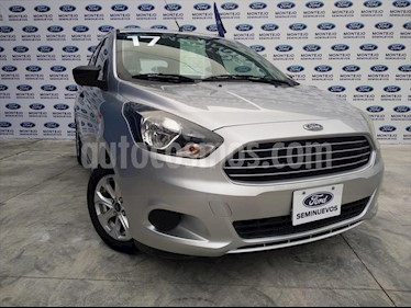 Foto Ford Figo Hatchback ENERGY TA 5 PUERTAS usado (2017) color Plata precio $160,000