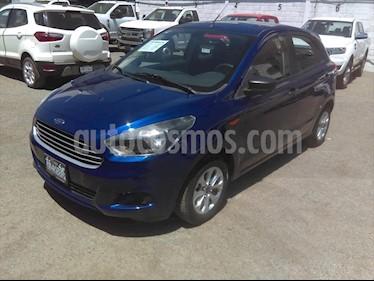 Ford Figo Hatchback ENERGY TM 5 PUERTAS usado (2017) color Azul Electrico precio $145,000