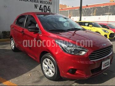 Ford Figo Hatchback Energy usado (2018) color Rojo Rubi precio $165,000