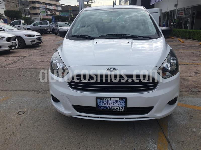 Ford Figo Hatchback ENERGY TM 5 PTAS usado (2018) color Blanco precio $159,000