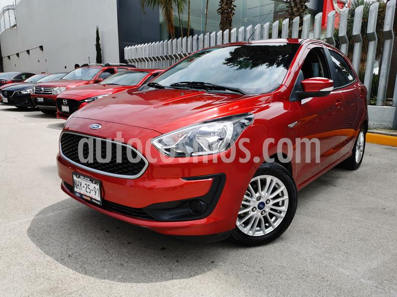 Ford Figo Hatchback Energy usado (2019) color Rojo Rubi precio $185,000