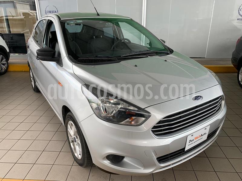 Ford Figo Hatchback Energy usado (2018) color Gris precio $174,900