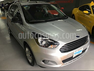 Ford Figo Hatchback Impulse A/A usado (2016) color Plata precio $115,000