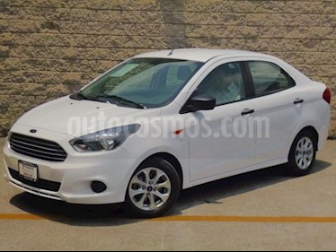 Foto Ford Figo Sedan 4p Energy L4/1.5 Aut usado (2016) color Blanco precio $142,000
