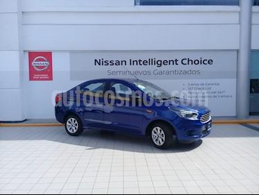 Foto venta Auto usado Ford Figo Sedan Energy Aut (2017) color Azul precio $179,000