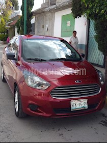 Ford Figo Sedan Energy usado (2018) color Rojo Rubi precio $140,000