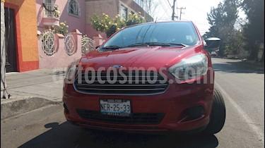 Foto venta Auto usado Ford Figo Sedan Energy (2017) color Rojo precio $149,500