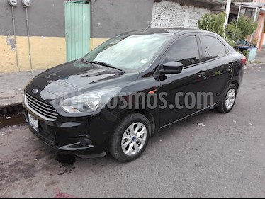 Foto venta Auto usado Ford Figo Sedan Energy (2017) color Negro precio $170,000