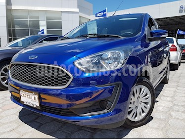Foto venta Auto usado Ford Figo Sedan Impulse A/A (2019) color Azul precio $179,000