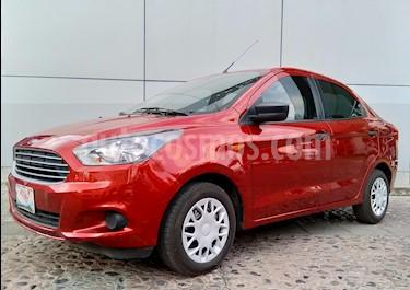 Foto venta Auto usado Ford Figo Sedan Impulse A/A (2018) color Rojo Rubi precio $175,000