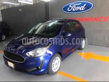 Ford Figo Sedan Impulse A/A usado (2019) color Azul precio $195,000