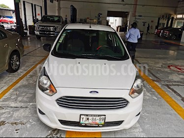 Ford Figo Sedan Impulse Aut A/A usado (2016) color Blanco Oxford precio $135,000