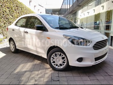 Foto venta Auto usado Ford Figo Sedan Impulse Aut A/A (2017) color Blanco precio $159,000