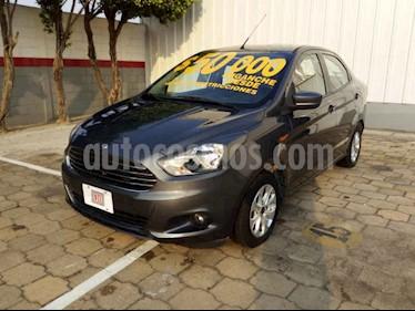 Foto venta Auto usado Ford Figo Sedan Impulse Aut A/A (2018) color Gris precio $200,000