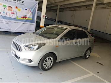 Foto venta Auto usado Ford Figo Sedan Impulse Aut A/A (2016) color Plata precio $135,000