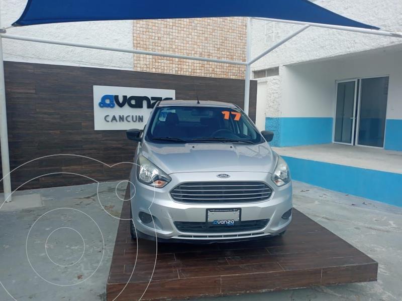 Ford Figo Sedan Impulse  usado (2017) color Plata Dorado precio $139,900