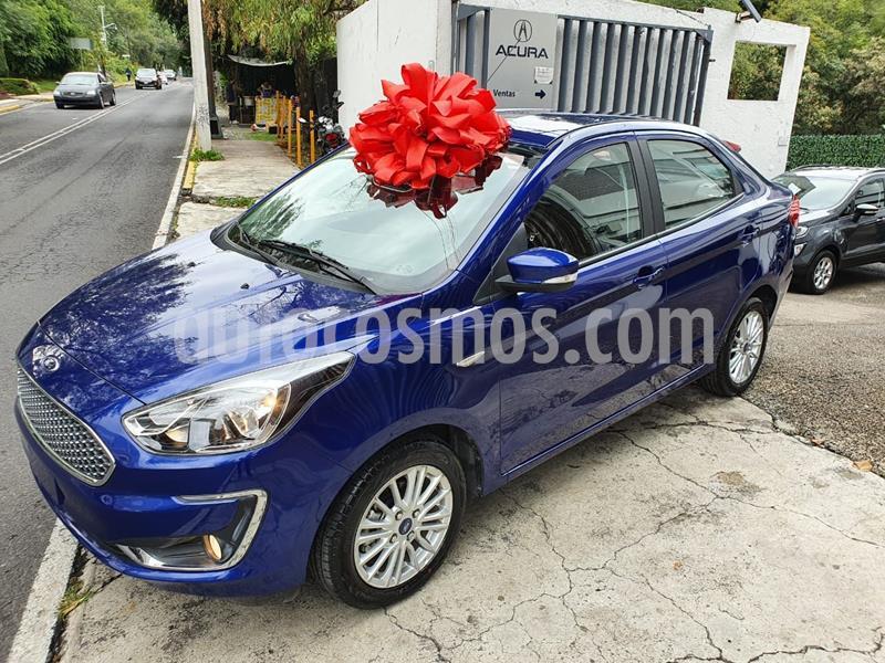 Ford Figo Sedan Titanium usado (2020) color Azul precio $288,000