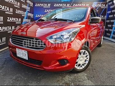 Ford Figo Sedan Impulse  usado (2016) color Rojo Rubi precio $120,000