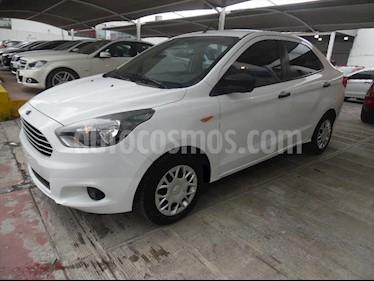 Ford Figo Sedan IMPULSE L4/1.5 MAN A/A usado (2016) color Blanco precio $130,000