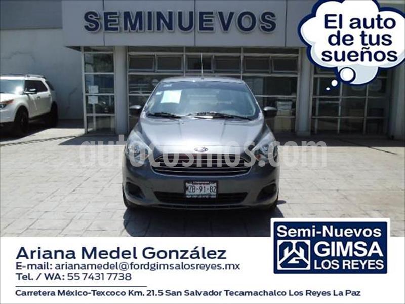 Ford Figo Sedan 5P IMPULSE L4/1.5 MAN A/A usado (2016) color Gris Oscuro precio $115,000