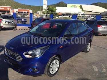 Ford Figo Sedan Impulse A/A usado (2018) color Azul Electrico precio $150,000