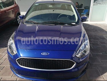Ford Figo Sedan Impulse Aut A/A usado (2019) color Azul Electrico precio $184,000
