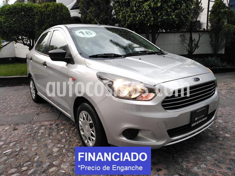 Ford Figo Sedan Impulse  usado (2018) color Plata Estelar precio $40,000