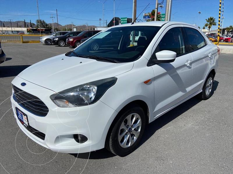 Ford Figo Sedan Titanium Aut usado (2018) color Blanco precio $160,000