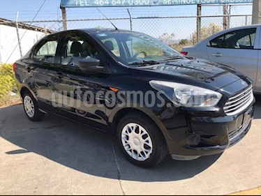 Ford Figo Sedan Impulse A/A usado (2017) color Negro precio $155,000