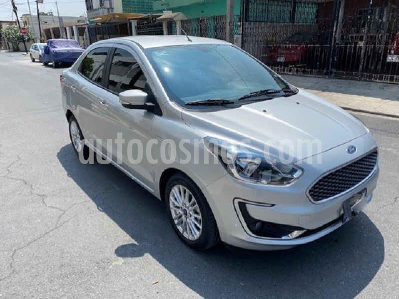 Ford Figo Sedan Titanium Aut usado (2019) color Plata precio $193,000