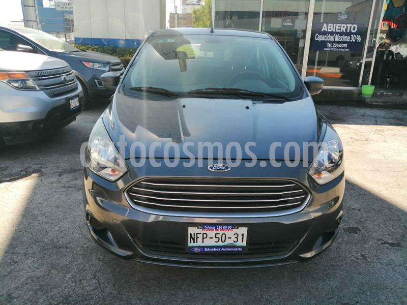 Ford Figo Sedan Impulse Aut A/A usado (2017) color Gris precio $127,000
