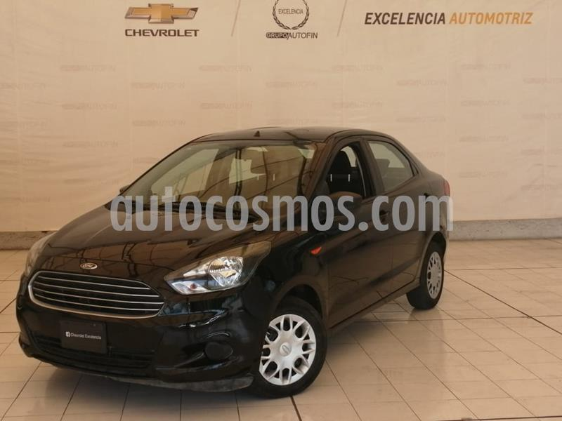 Ford Figo Sedan Impulse Aut A/A usado (2018) color Negro precio $150,000