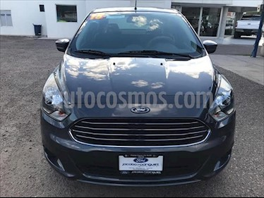 foto Ford Figo Sedán Titanium Aut usado (2018) color Gris Oscuro precio $195,000