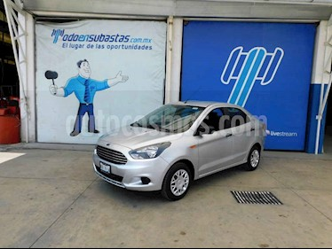 Ford Figo Sedan Impulse A/A usado (2018) color Plata precio $64,000