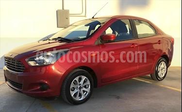Ford Figo Sedan Titanium Aut usado (2017) color Rojo precio $160,000