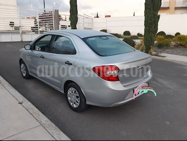 Ford Figo Sedan Impulse A/A usado (2016) color Plata precio $107,500