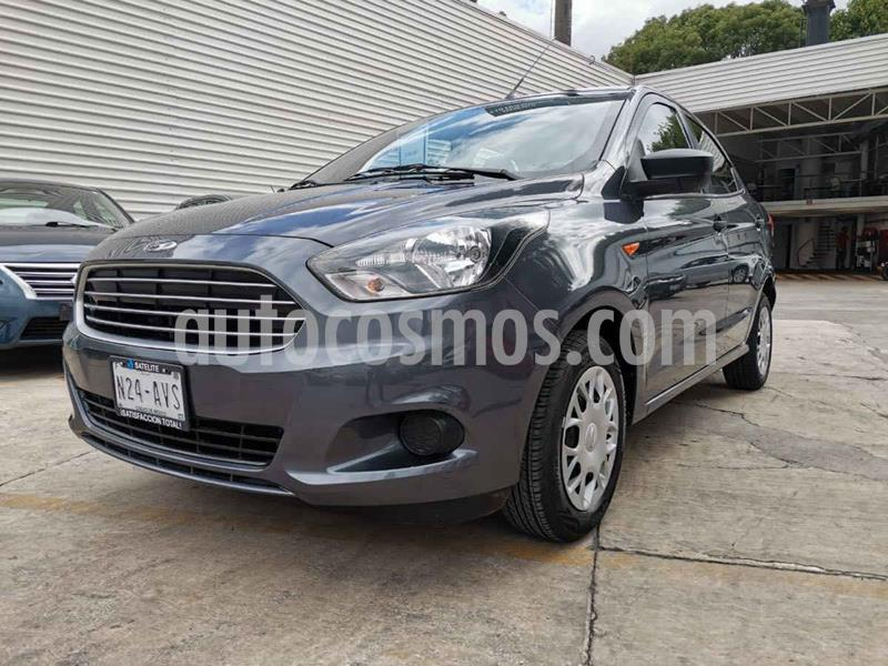Ford Figo Sedan Impulse A/A usado (2018) color Gris precio $159,000
