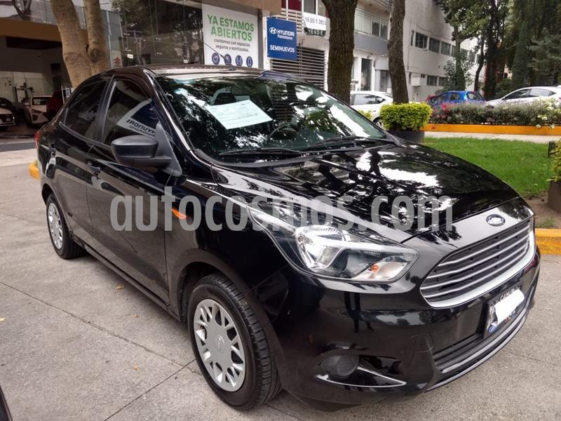 Ford Figo Sedan Energy usado (2018) color Negro precio $155,000