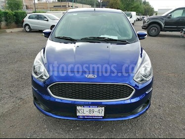 Ford Figo Sedan Impulse Aut A/A usado (2019) color Azul Electrico precio $188,000