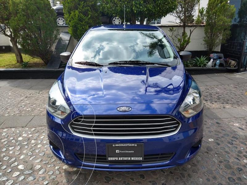 Ford Figo Sedan Impulse A/A usado (2018) color Azul Electrico precio $157,000