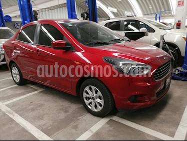 Ford Figo Sedan Titanium Aut usado (2017) color Rojo precio $164,500